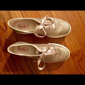 1e7b605954f6 Keds Shoes - Keds Triple Decker brushed matte metallic sneakers